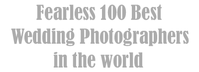 Fearless 100 best wedding photographers in the world