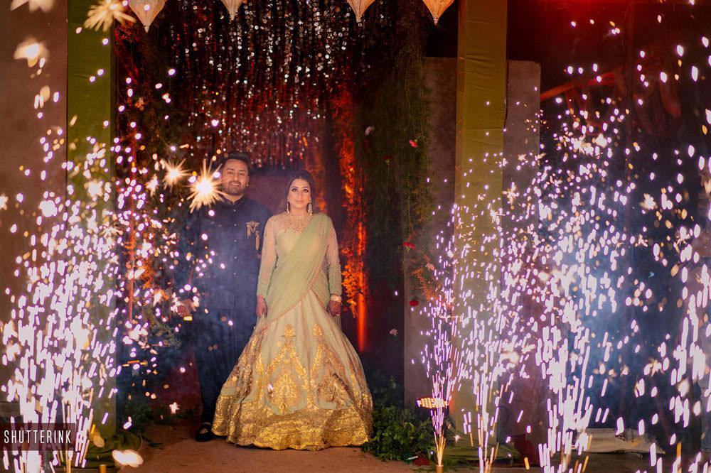Destination wedding in Fairmont
