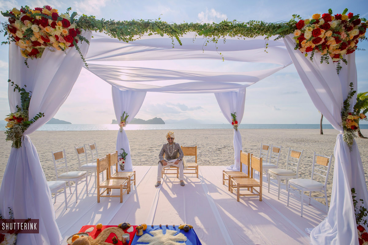 Destination wedding in Langkawi