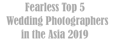 Best wedding photographer in asia