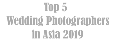Top wedding photographers in asia