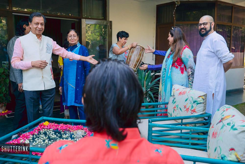 intimate delhi wedding